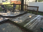 Deck Before Cleaning