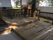 Deck After Cleaning