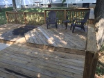 Deck Cleaned and Ready For Stain
